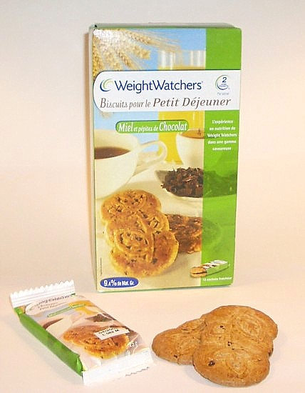 weight watchers biscuits pour le petit d jeuner miel et p pite de chocolat. Black Bedroom Furniture Sets. Home Design Ideas